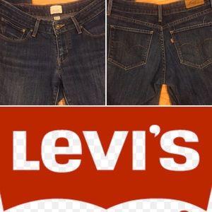 🆕EUC-LEVI'S bold curve straight leg jeans